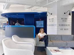 linkedin u0027s new york office stays chic without using cliches