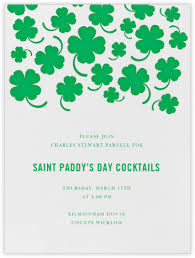 st patrick u0027s day invitations online at paperless post