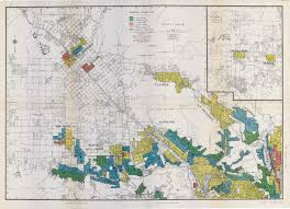 Map Of Riverside County Segregation In The City Of Angels A 1939 Map Of Housing