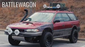 modded subaru outback the battlewagon the most obnoxious outback ever youtube