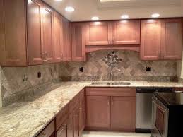 Stacked Stone Kitchen Backsplash Idea Maple Kitchen Cabinets Backsplash Other Photos To Kitchen