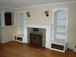 Living Room Furniture With Storage Exciting Living Room Cabinet Decorating Ideas With White Open Wall