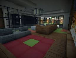 modern living room minecraft interior design