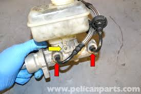 volkswagen golf gti mk v brake master cylinder and reservoir