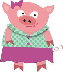 pig clipart mother pig pencil color pig clipart mother pig