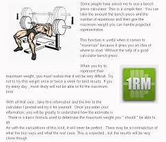 How To Calculate Bench Press Weight How To Calculate Bench Press Weight Best Layout For A Custom