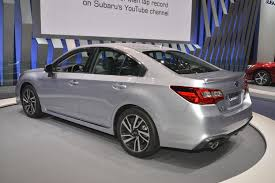 subaru legacy 2018 subaru legacy has a hint of impreza in chicago autoevolution