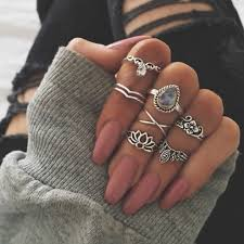 rings set images Boho midi rings set shopmeiding online store powered by storenvy jpg