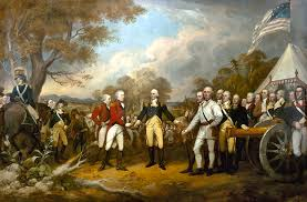burgoyne christmas cards the of general burgoyne painting by war is hell store