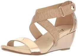 anne klein womens crisscross open toe casual platform sandals ebay