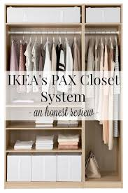 ikea closets ikea s pax closet systems an honest review driven by decor
