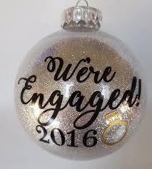 engaged ornament engaged ornament newly engaged gift