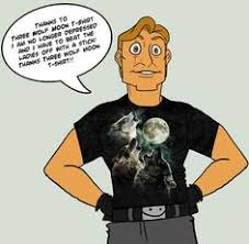 the magic t shirt that will give you superpowers three wolf moon