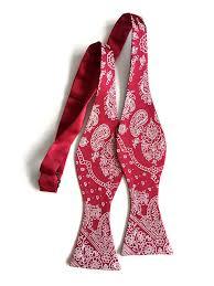 bandana bow bandana print bow tie by cyberoptix tie lab