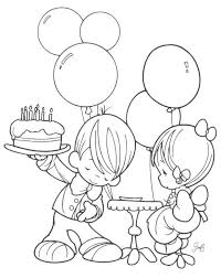 birthday coloring sheets coloring pages amazing free happy birthday coloring pages free
