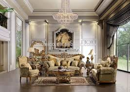 Luxurious Living Room Sets 2015 New Arrival Luxury European Wooden Living Room Sofa