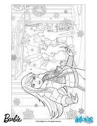 barbie christmas coloring pages print coloring pages kids