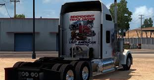 trucker to trucker kenworth kenworth w900 u2013 independent trucker mod for ats ats mod