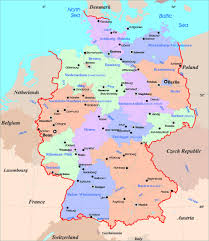 Map Of France And Surrounding Countries by Maps Of Germany Detailed Map Of Germany In English Tourist Map