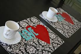 Valentine S Day Tablecloth by Icandy U0026 Tutorial Valentine U0027s Day Placemats Icandy Handmade