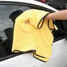 nettoyer des si es de voiture en tissus grande taille microfibre voiture chiffons de nettoyage car care