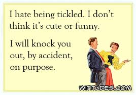 Tickled Memes - i hate being tickled wititudes