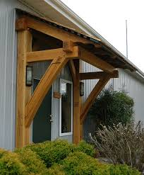 Action Awning This Timber Frame Porch And Awning Are Located At Our Homestead