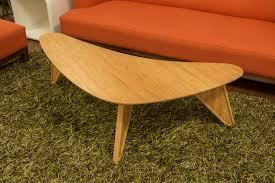 Boomerang Coffee Table Cali Bamboo Presents
