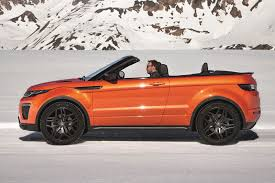 range rover convertible range rover evoque convertible a convertible for all seasons