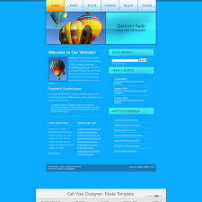 fest holiday html template