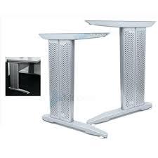 le de bureau sur pied pied de table metal hopehousebabieshome info