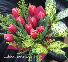 tulip bouquets ribbon net shop rakuten global market designer chef tulip