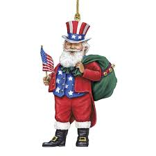 santa around the world ornaments includes a free