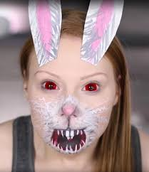 Scary Halloween Looks 15 Diy Snapchat Filter Costumes Best Ideas For Snapchat Makeup
