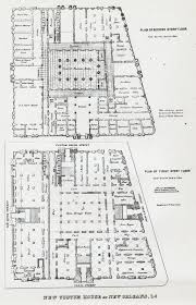 New Orleans Floor Plans The Collins C Diboll Vieux Carré Survey Property Info