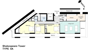Flat Plans Shakespeare Tower Flat Plans Barbican Living