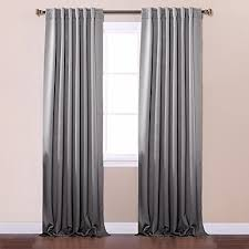 Gray And White Blackout Curtains Grey Blackout Curtains