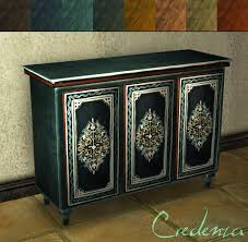 mod the sims moroccan dining living set