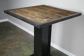industrial style furniture combine 9 industrial furniture u2013 industrial bistro table