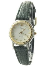 Jam Tangan Alba Emas harga alba atcs02 jam tangan wanita perak emas hijau pricenia