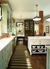 Obsessing Over Green Grey Kitchens Elements Of Style Blog - Green cabinets kitchen