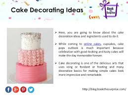 Cake Decorating Books Online Easy Way For Cake Decorating Ideas