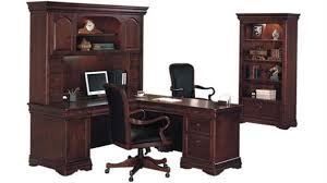 L Shaped Desk With Bookcase Office Furniture 1 800 460 0858 Trusted 30 Years Experience