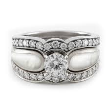 the pearls wedding band pearl wedding rings jemonte
