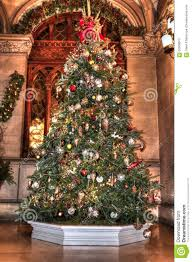 christmas tree all decked out stock photo image 62009873