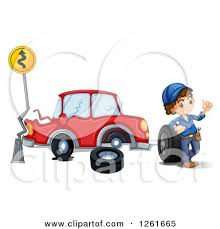 wrecked car clipart clipart of vehicles after a head on collision accident royalty