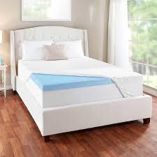 novaform 3 u201d evencor gelplus gel memory foam mattress topper with