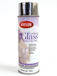 Krylon Short Cuts Spray Paint - krylon looking glass mirror like paint misterart com