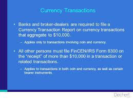 Willful Blindness Aml 2007 Dechert Llp Anti Money Laundering Responsibilities Of