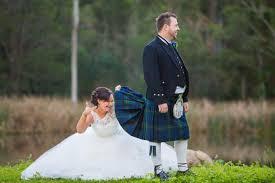 scottish wedding dresses terrific tartan dougie s scottish wedding